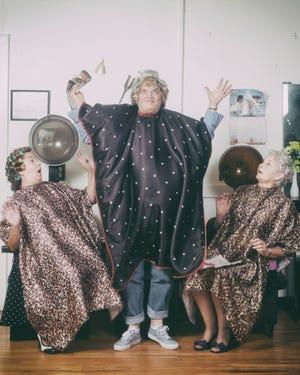 """Kate Adams, left, Deb Moore and Linda Speir in """"Steel Magnolias."""""""