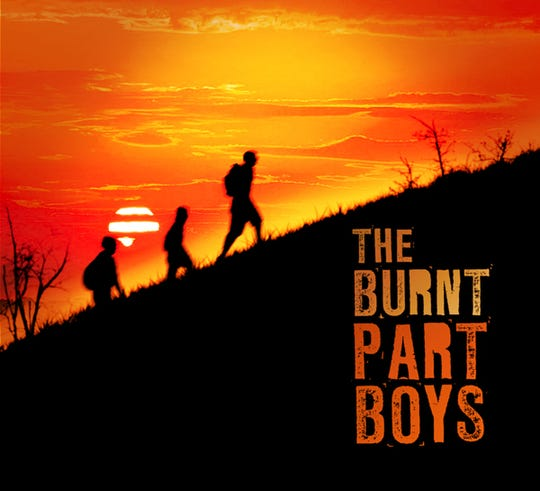 """Poster image from """"The Burnt Part Boys."""""""