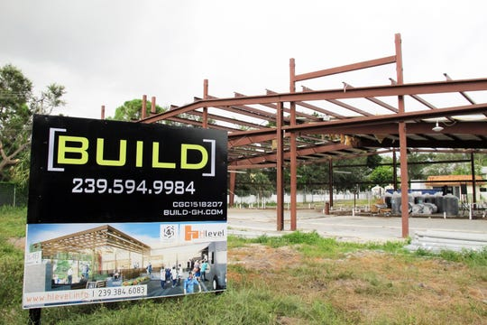 Ankrolab Brewing Co. is being built within the framework of a former warehouse next to San Julian Taqueria on Bayshore Drive in East Naples.