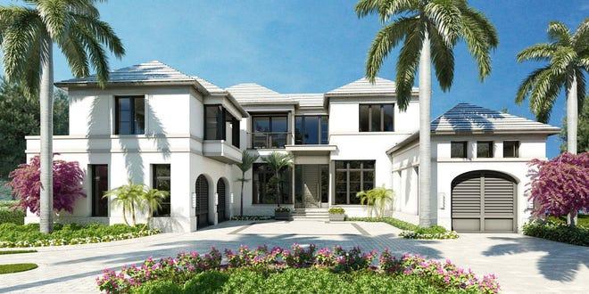 London Bay Homes' new custom estate home in Port Royal.