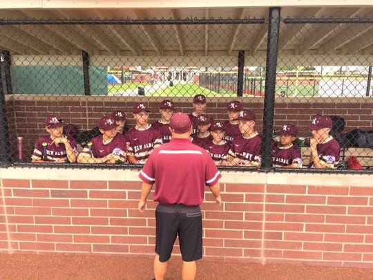 Newark graduate Greg Ecleberry coached the New Albany Little League All-Stars in the Great Lakes Regional this past week. Ecleberry's wife Amy also is a Newark graduate, and their son Brandon was the team's second baseman.