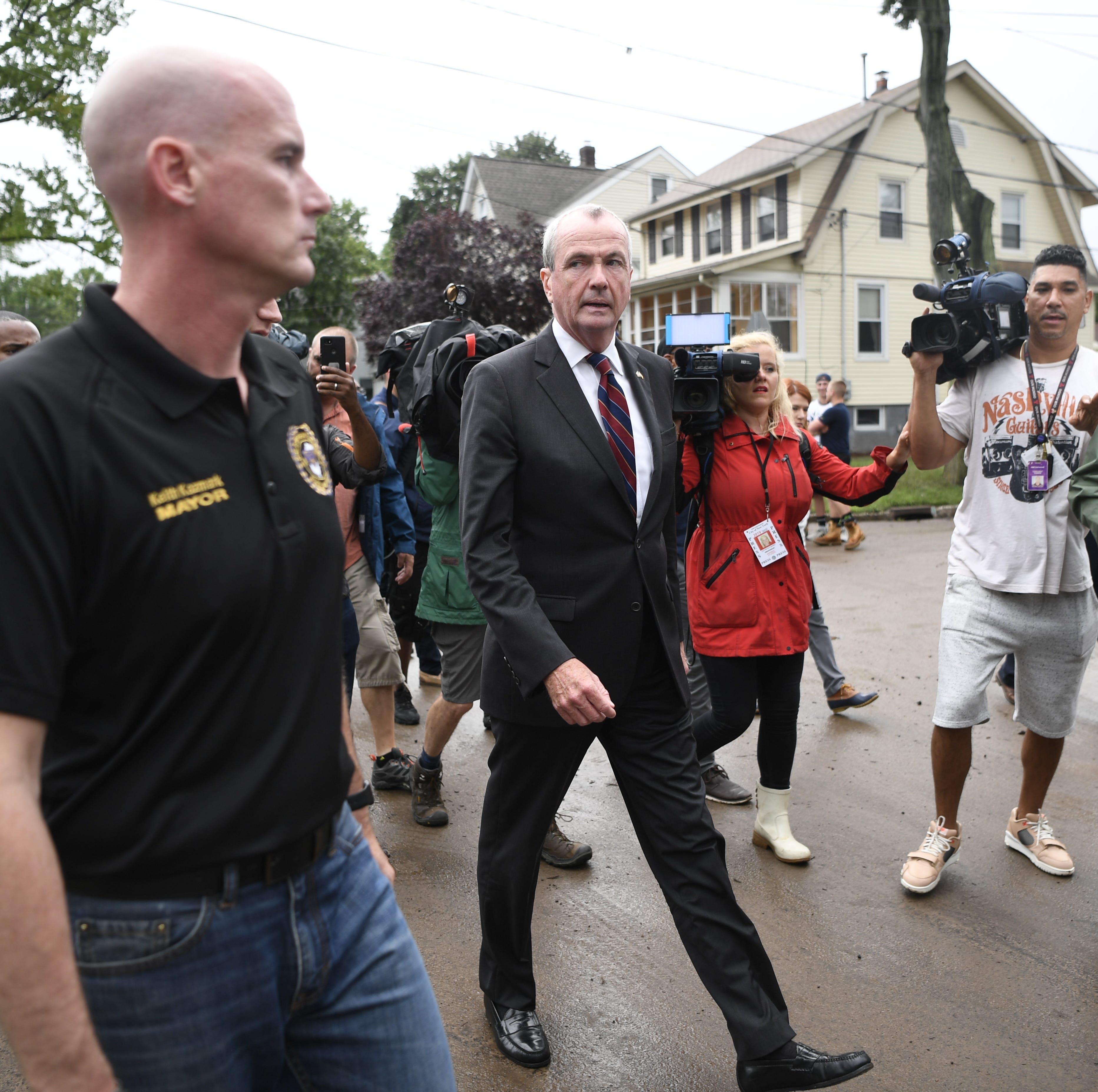 Murphy tours flooded North Jersey area, promises help for those hardest hit