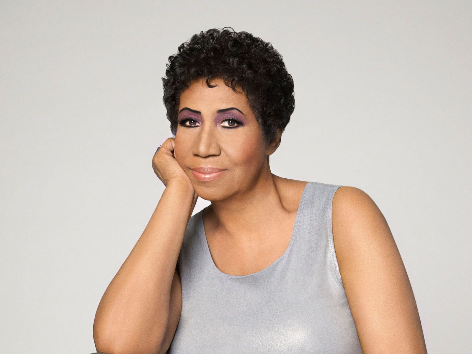 Aretha Franklin. Photographed in Detroit, MI April 7th, 2014.