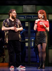 "Jay Klaitz and Marilu Henner in ""Gettin' The Band Back Together"""