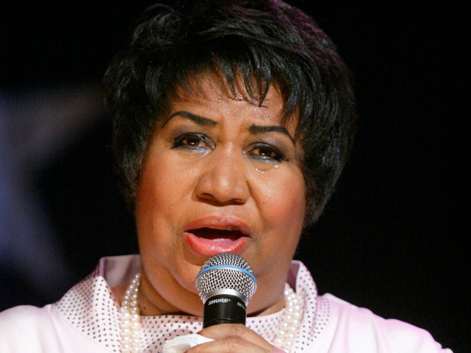 Aretha Franklin sings at the McDonald's Gospelfest 2005, Saturday, June 4, 2005, in New York.