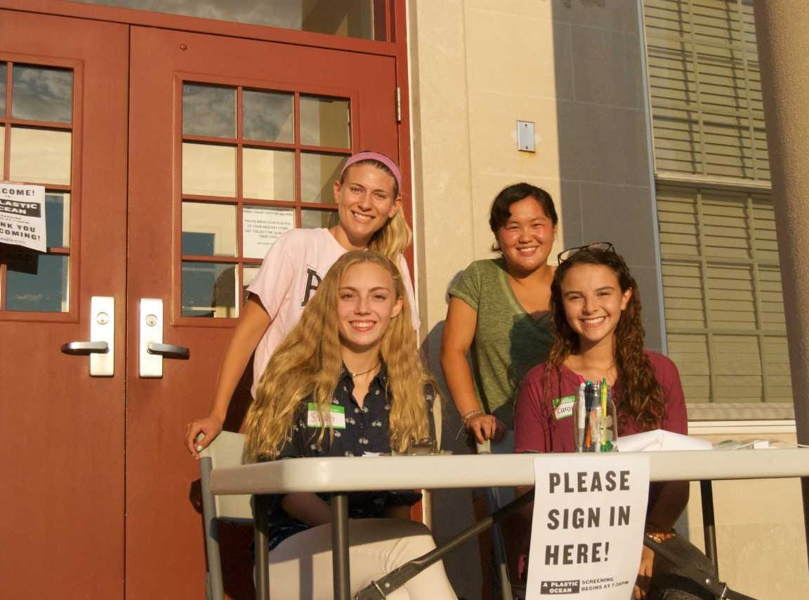 """The Glen Rock Green Team interns hosted """"A Plastic Ocean"""" documentary screening on July 31in the Glen Rock Borough Hall Chambers."""