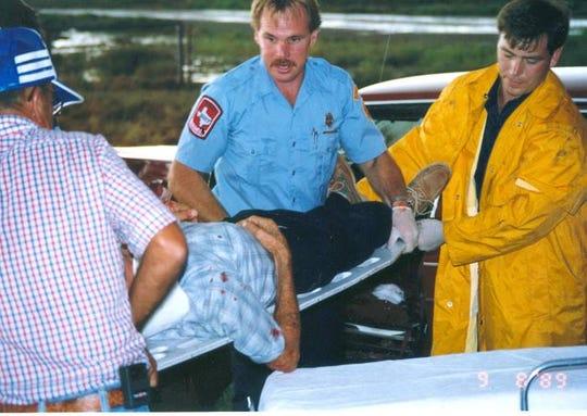 Bullard decades ago, recusing an individual during a roll-over crash.