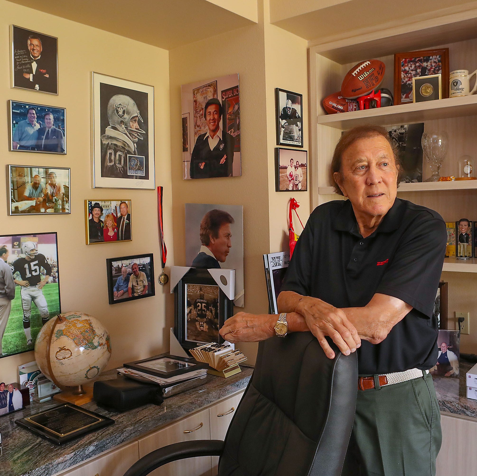 Tom Flores, desert resident with 4 Super Bowl rings, denied election to Pro Football Hall of Fame