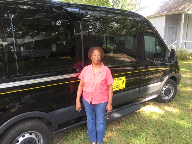 Helen Mincy operates Mincy's Taxi, a Century cab company that focuses on the sick, poor and elderly.