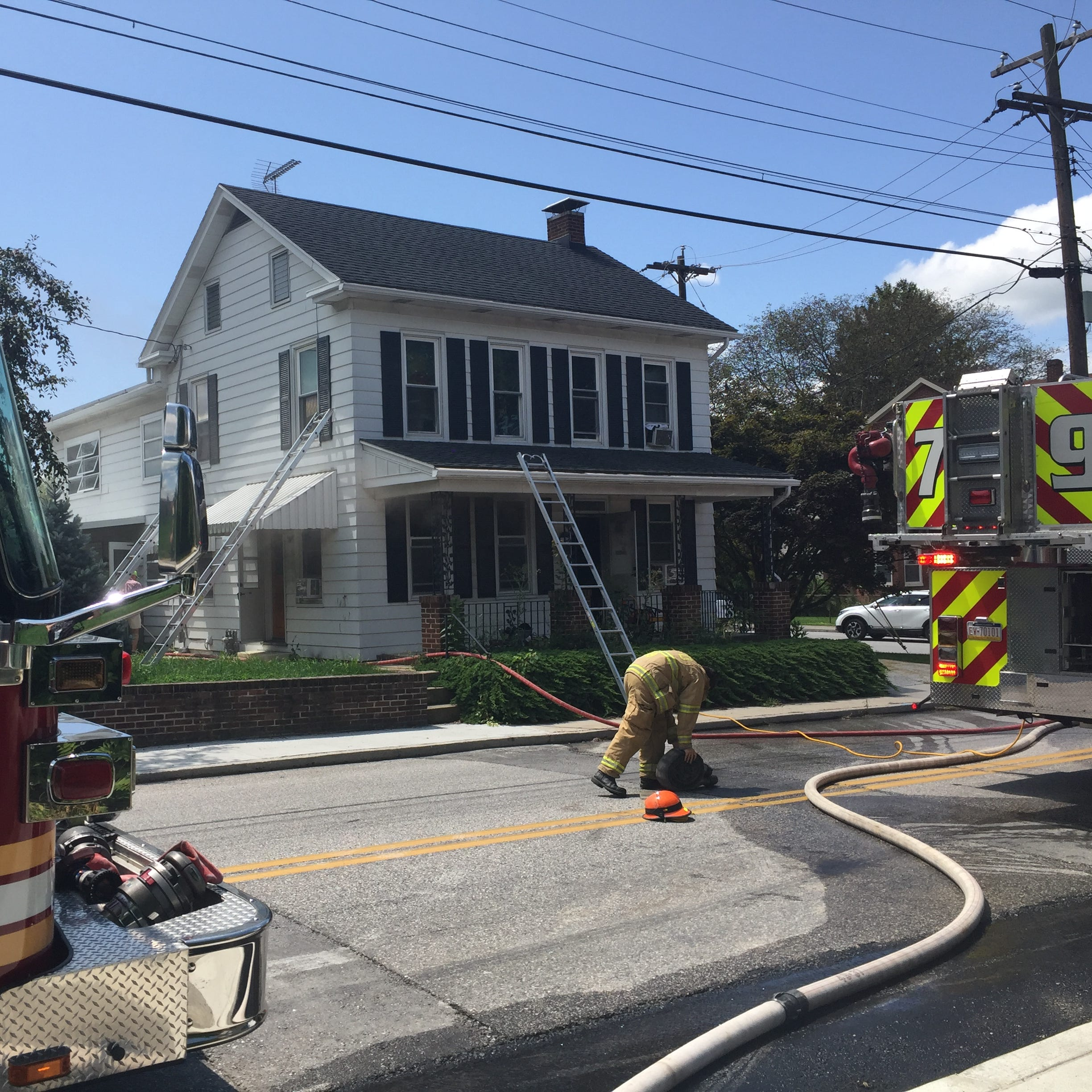 Fire at home in Hanover Borough causes severe interior damage