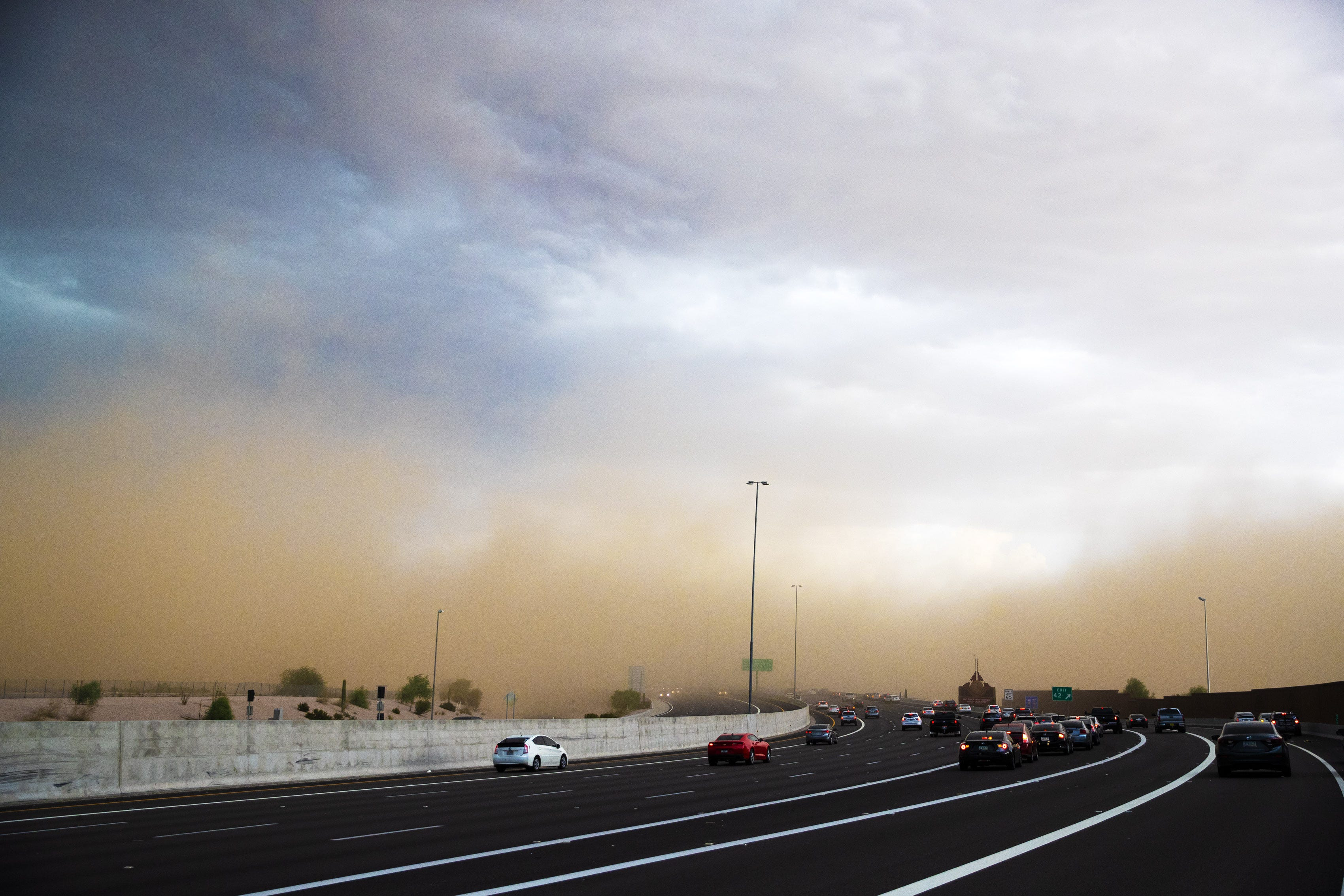 Latest monsoon storm brought high winds, heavy rainfall to the Valley | Arizona Central