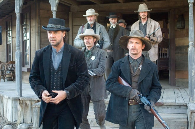 '3:10 to Yuma' (2007): When a captured outlaw (Russell Crowe) is scheduled for trial, it's up to a struggling rancher (Christian Bale) to ensure the criminal gets on the train to Yuma in a battle of the wills. The 2007 remake of a lauded 1957 Elmore Leonard Western had New Mexico'sBonanza Creek and Ghost ranchesdouble for southern Arizona.