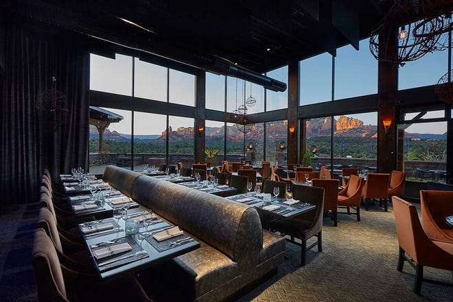 Mariposa Latin Inspired Grill provides some of the best views in Sedona to accompany their excellent food.