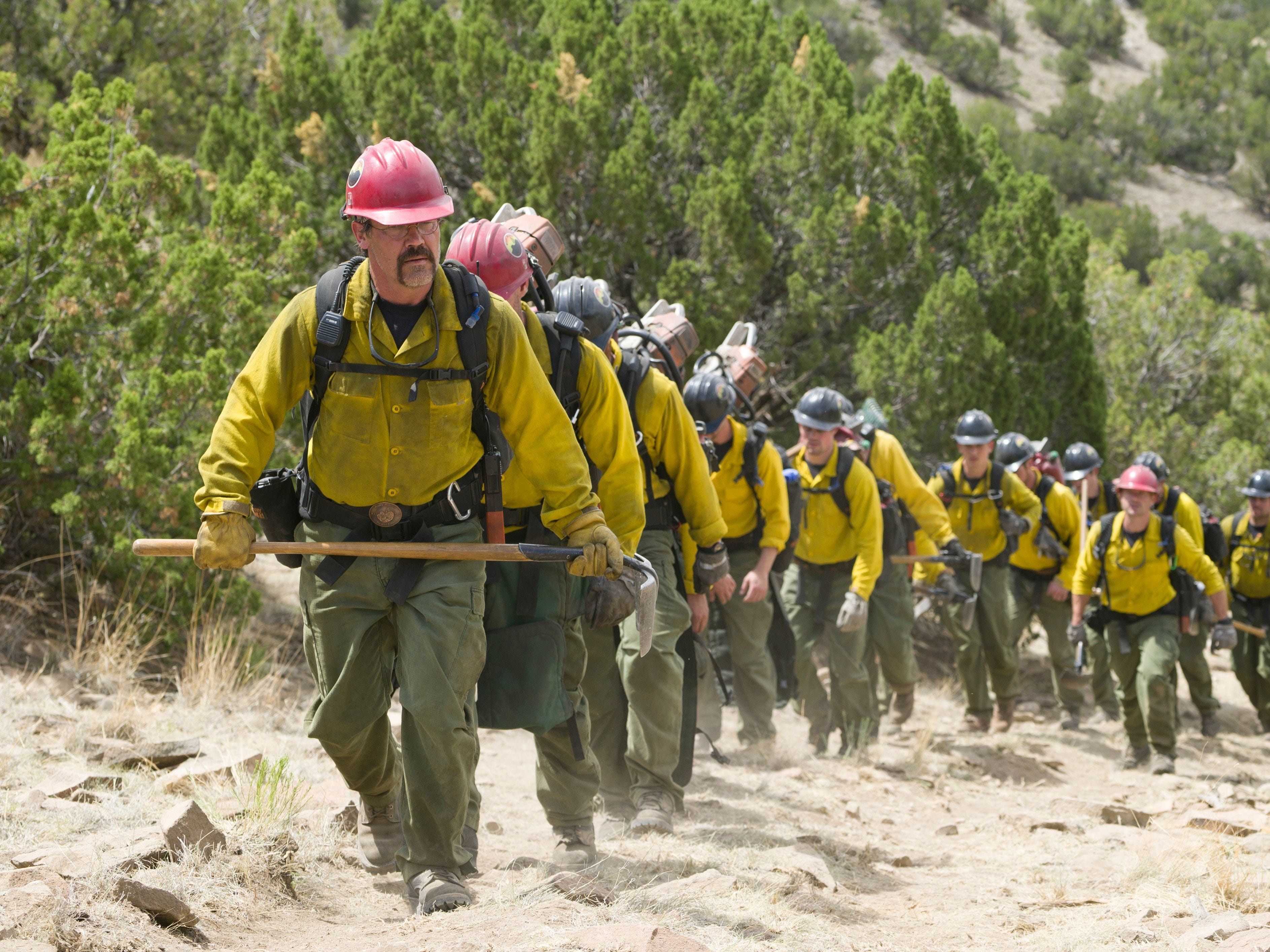 """'Only the Brave' (2017): The harrowing """"Only the Brave"""" explores the lives of the Granite Mountain Hotshots killed during the Yarnell Hill fire. Starring Josh Brolin, Jennifer Connelly and Miles Teller, this story of heroism, sacrifice and survival is seared into recent Arizona history. But the movie was filmed entirely in New Mexico, save for a fleeting shot of downtown Prescott.  """"I wish they would have filmed it here,"""" said Gov. Doug Ducey, who is not a fan of a specialty tax break for filmmakers. """"Of course, we always want to bring industry here."""""""