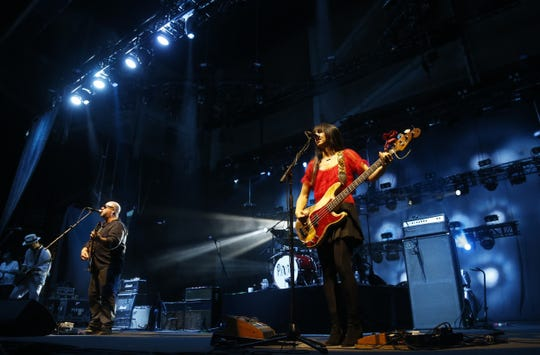 Pixies perform at Ak-Chin Pavilion in Phoenix, Sunday, August 12, 2018.