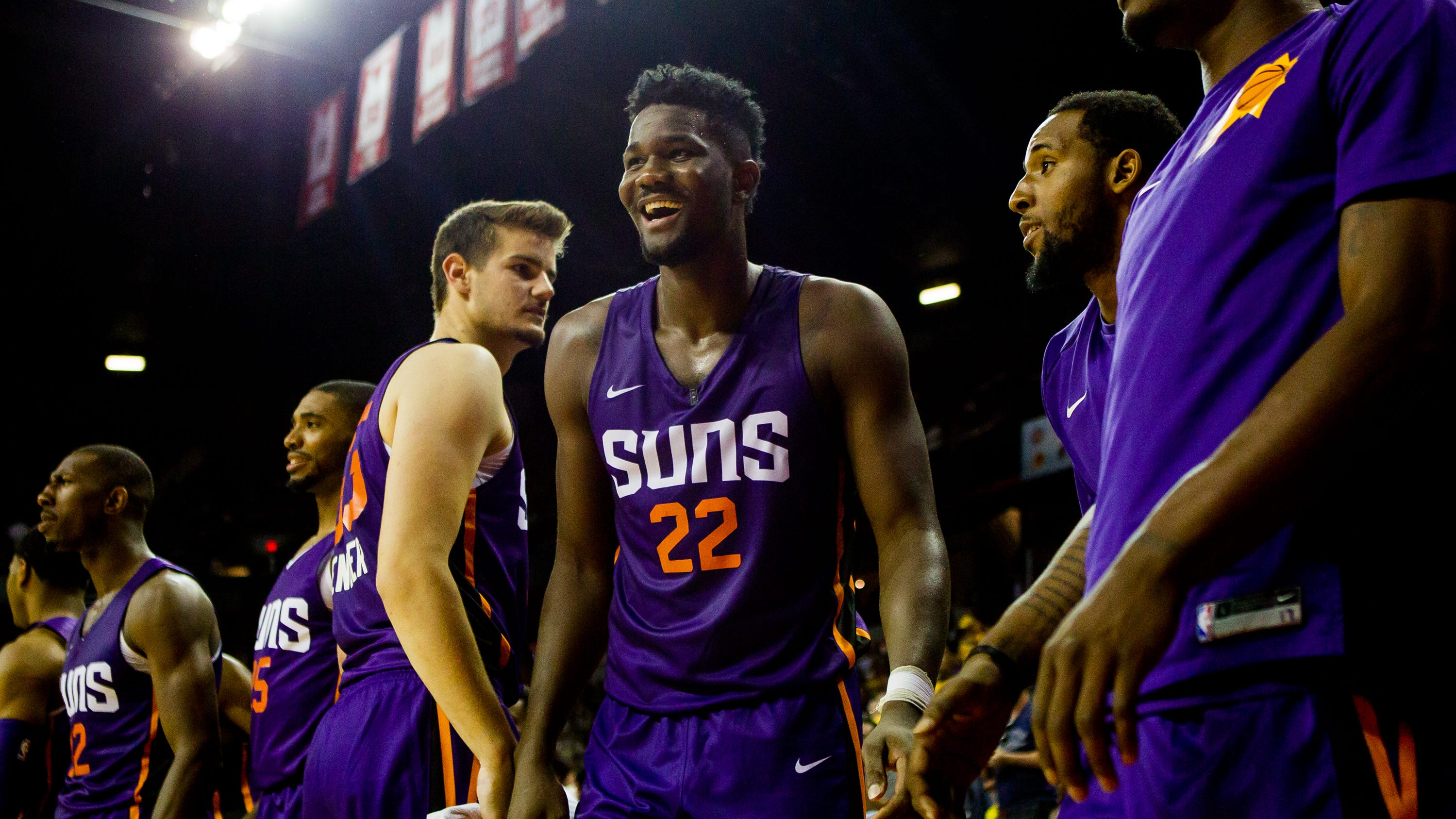 Deandre Ayton make have stoked the flames of a budding rivalry with Sixers big man Joel Embiid this weekend.