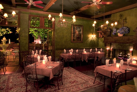 Cucina Rustica, another of Lisa Dahl's properties, is known as one of the most romantic restaurants in Sedona, with an elegant menu to match.