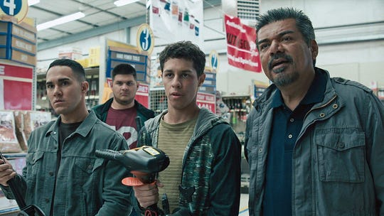 """""""Spare Parts"""" from 2015 is a feel-good retelling of the real-life story about Carl Hayden Community High School's robotics team's David-and-Goliath victory in 2004. At times it is melodramatic and thrilling.The film, starring George Lopez and Jamie Lee Curtis, was filmed in New Mexico but doesfeaturesome establishing shots of Phoenix."""