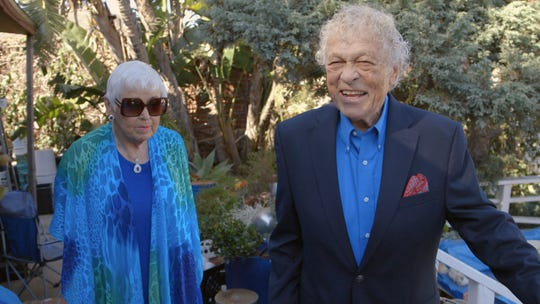 """Former Hollywood escort Scotty Bowers says his wife (pictured) was unaware of his past in """"Scotty and the Secret History of Hollywood."""""""