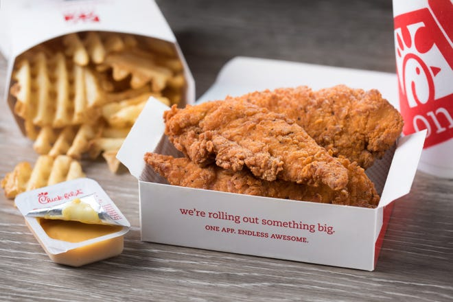 Spicy Chick-n-Strips are now available at select Phoenix Chick-fil-A stores.