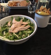 The Marouli Salad and Greek fries at Kovo in Kingston.