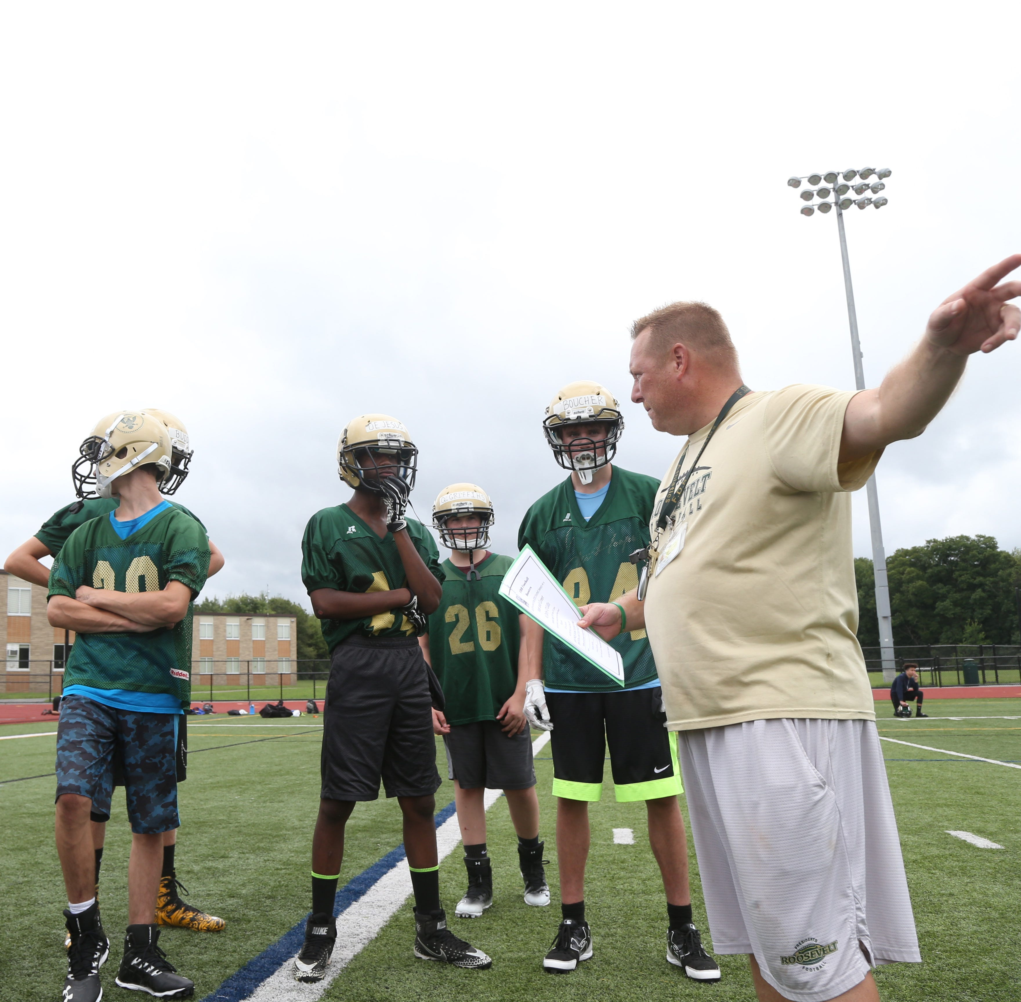 FDR football: Three takeaways from the first day of practice