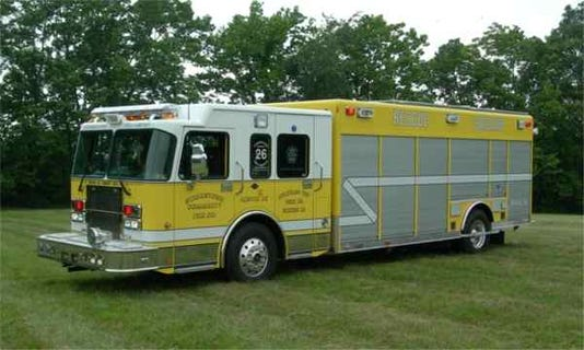Stolen Strinestown firetruck