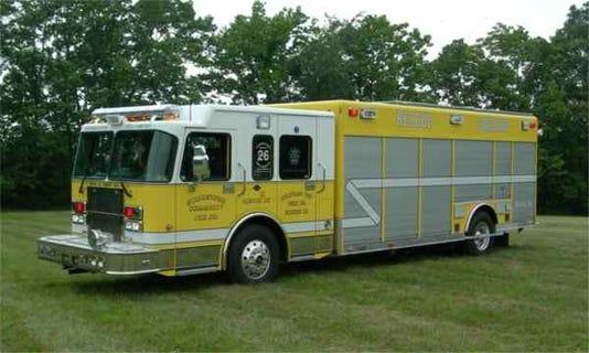 police strinestown firetruck thief was former junior firefighter