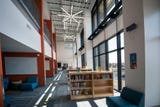 The new York Academy Upper School opened Monday take a tour with principal Dr. Michael Lowe.