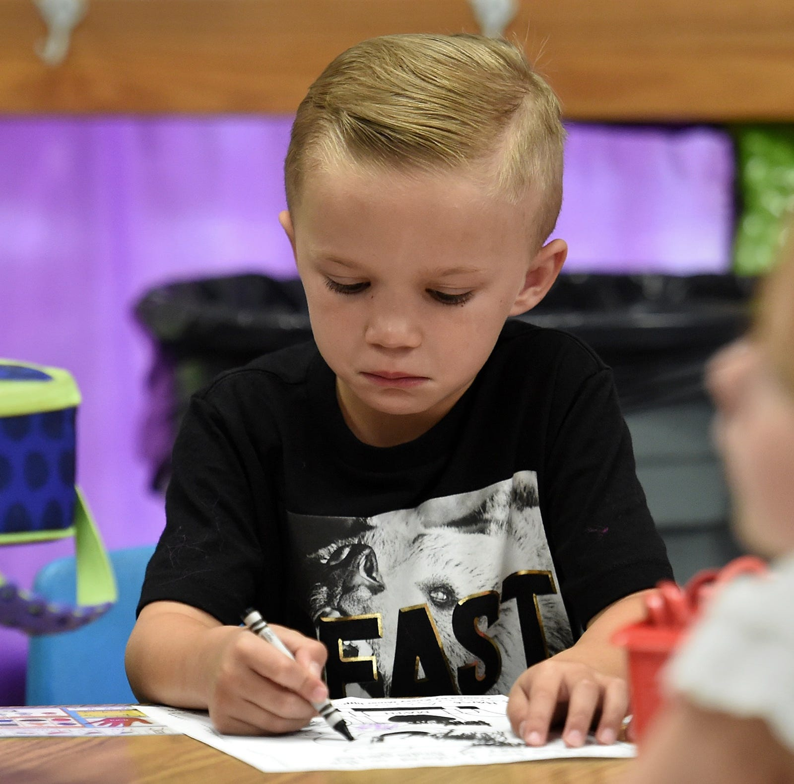 So far, Washoe County School District has 4,700 kindergartners that started school