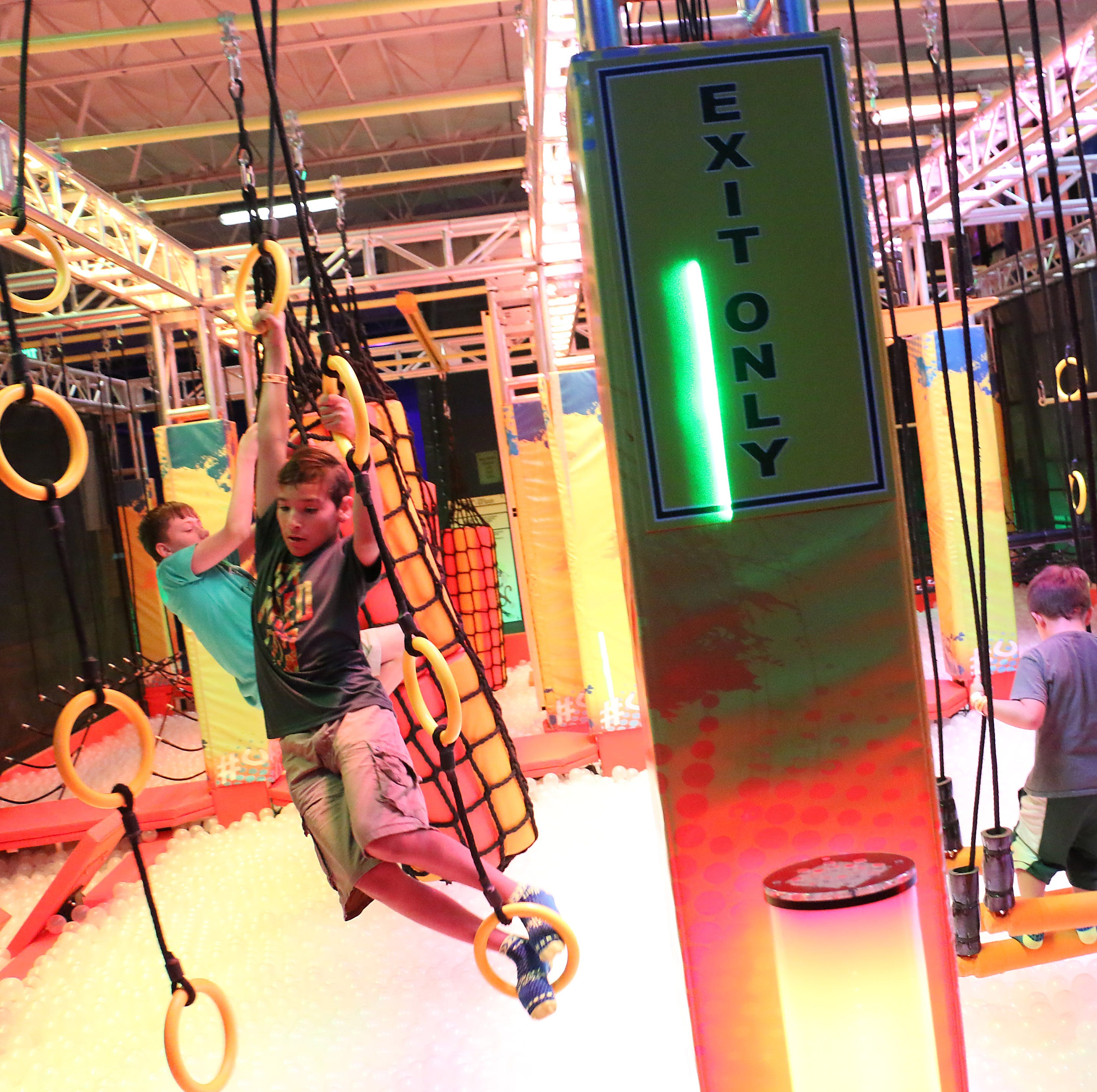 New indoor adventure park in Reno makes everyone into a 'ninja warrior'