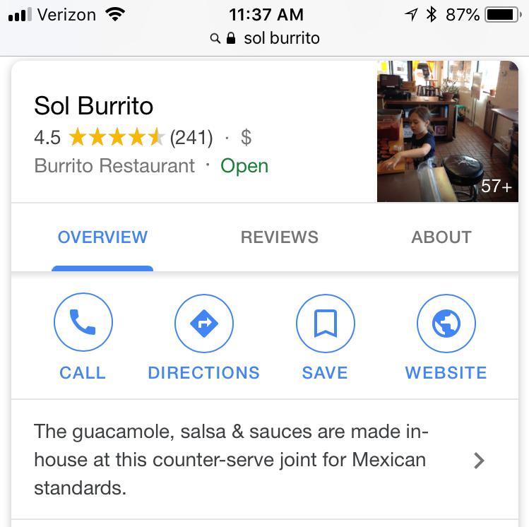 D&C food app investigation: Sol Burrito resolves Grubhub ad issue