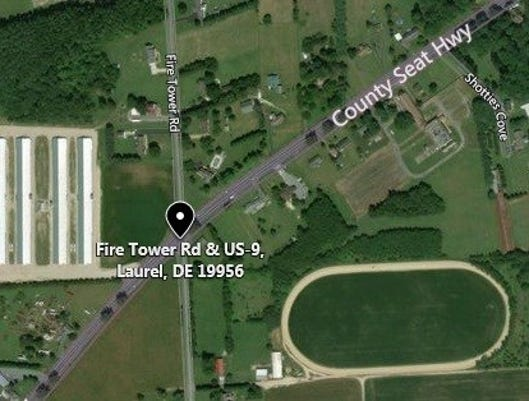 Fire Tower Rd At Us 9