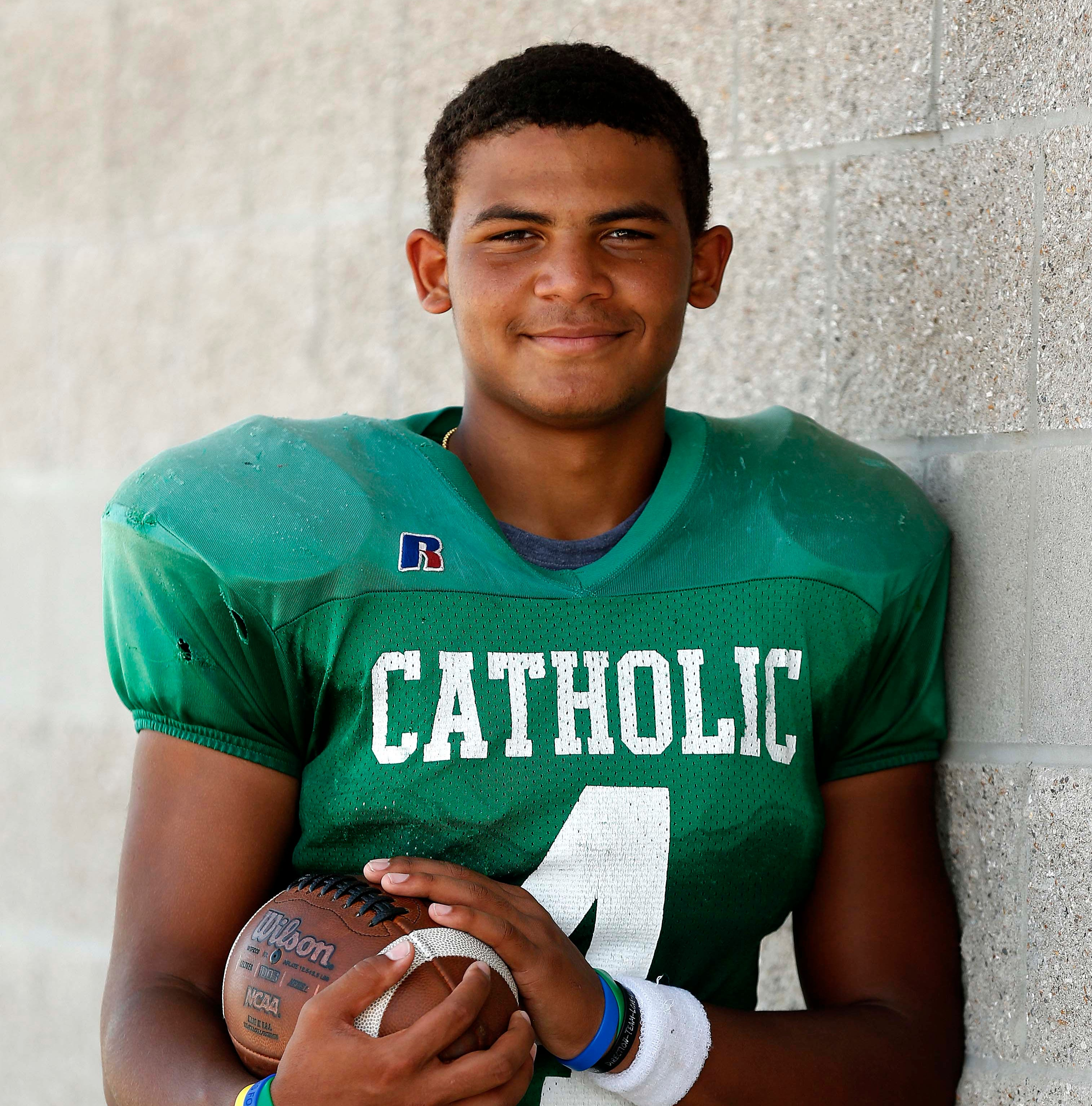 Springfield Catholic's Tyson Riley is the most sought-after college prospect in town