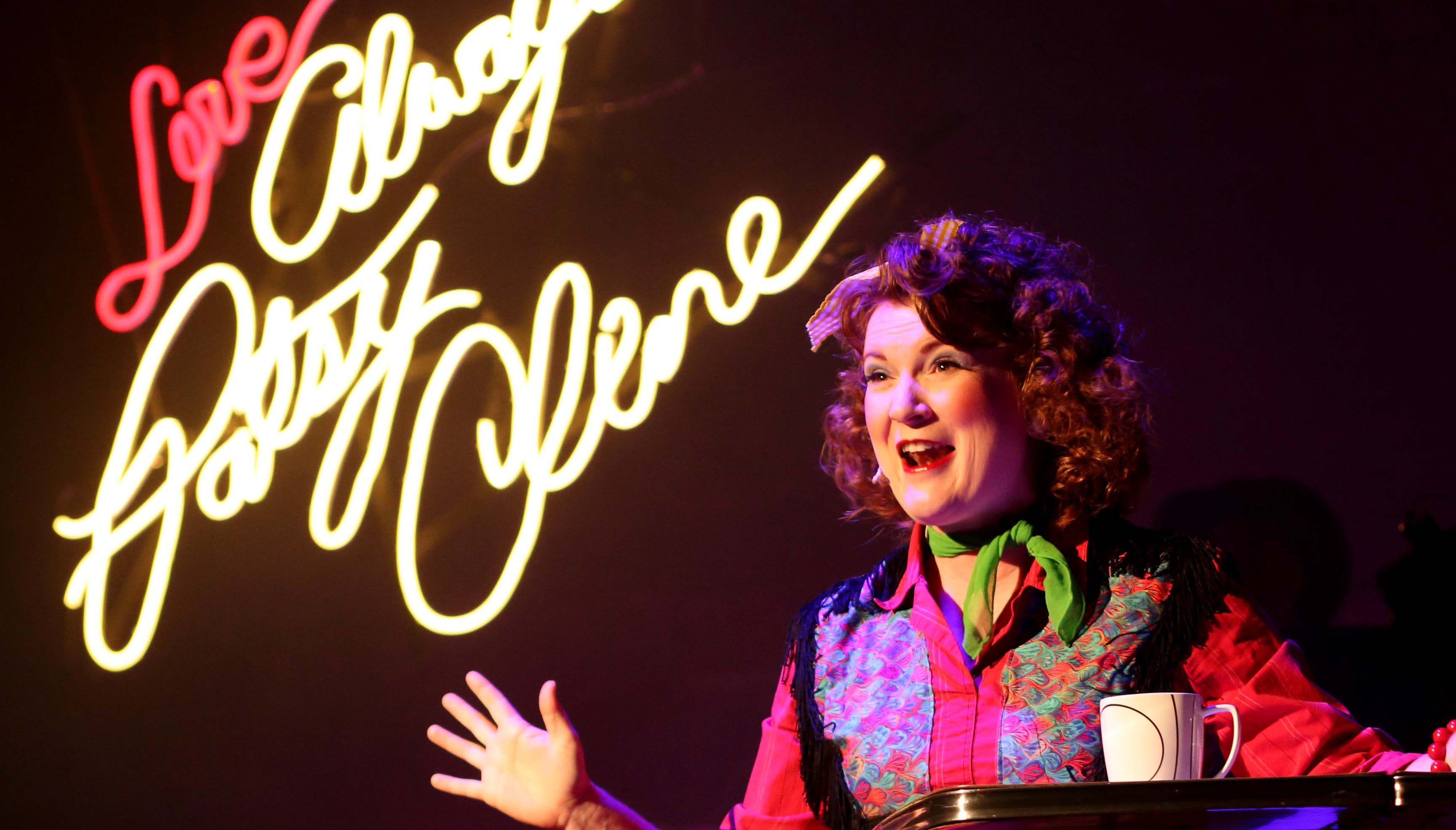 """Lyndsey Wulfenstein plays the title character in """"Always ... Patsy Cline"""" at the Redstone Theater in Kanab."""