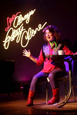 "Lyndsey Wulfenstein plays the title character in ""Always ... Patsy Cline"" at the Redstone Theater in Kanab."