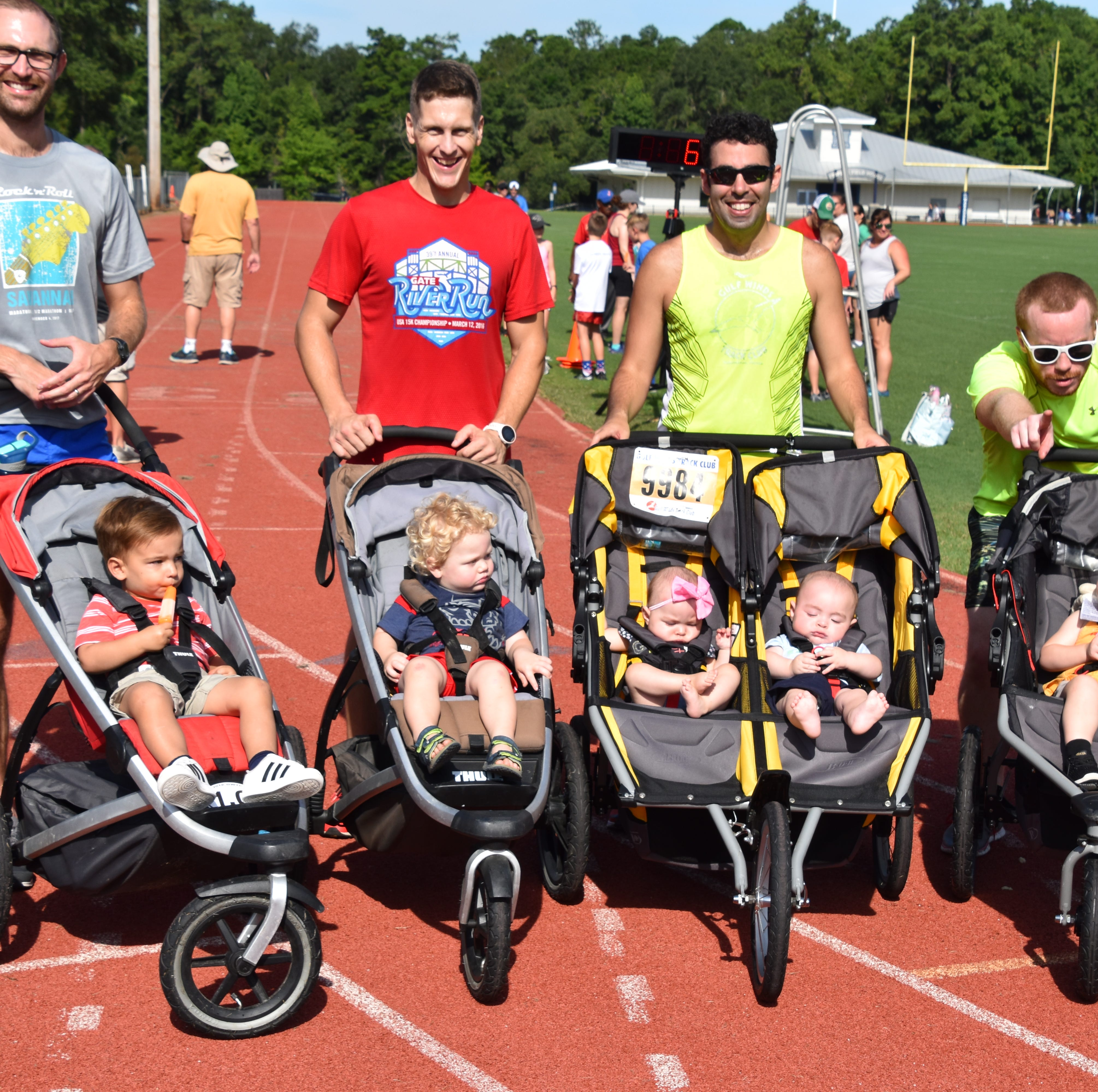 GWTC's Breakfast on the Track is fun for participants of all ages