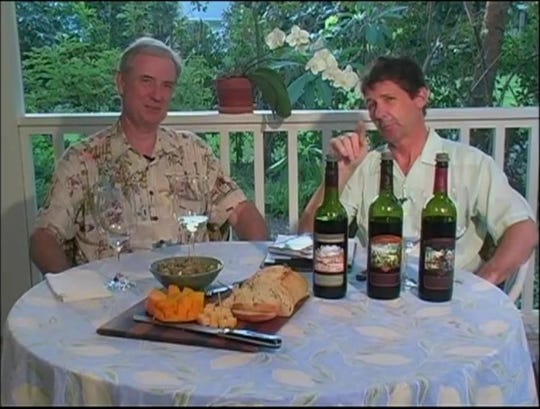 """Bob Roth (left) and Bob Stanley of the """"Seller to Cellar """" television show will be at a fundraiser Aug. 17 at the Heritage Center in Vero Beach."""