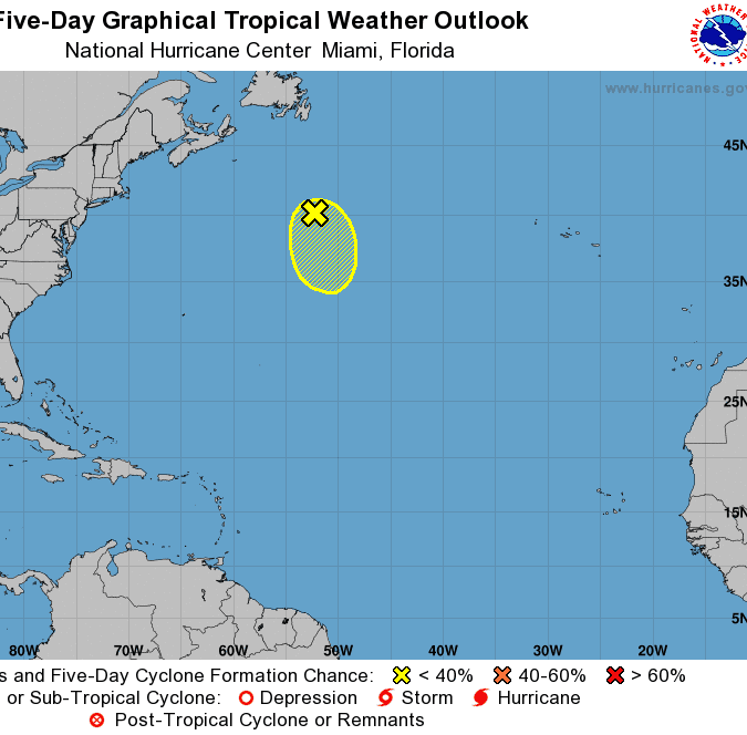 1 system falls apart; National Hurricane Center still watching 1 in Atlantic