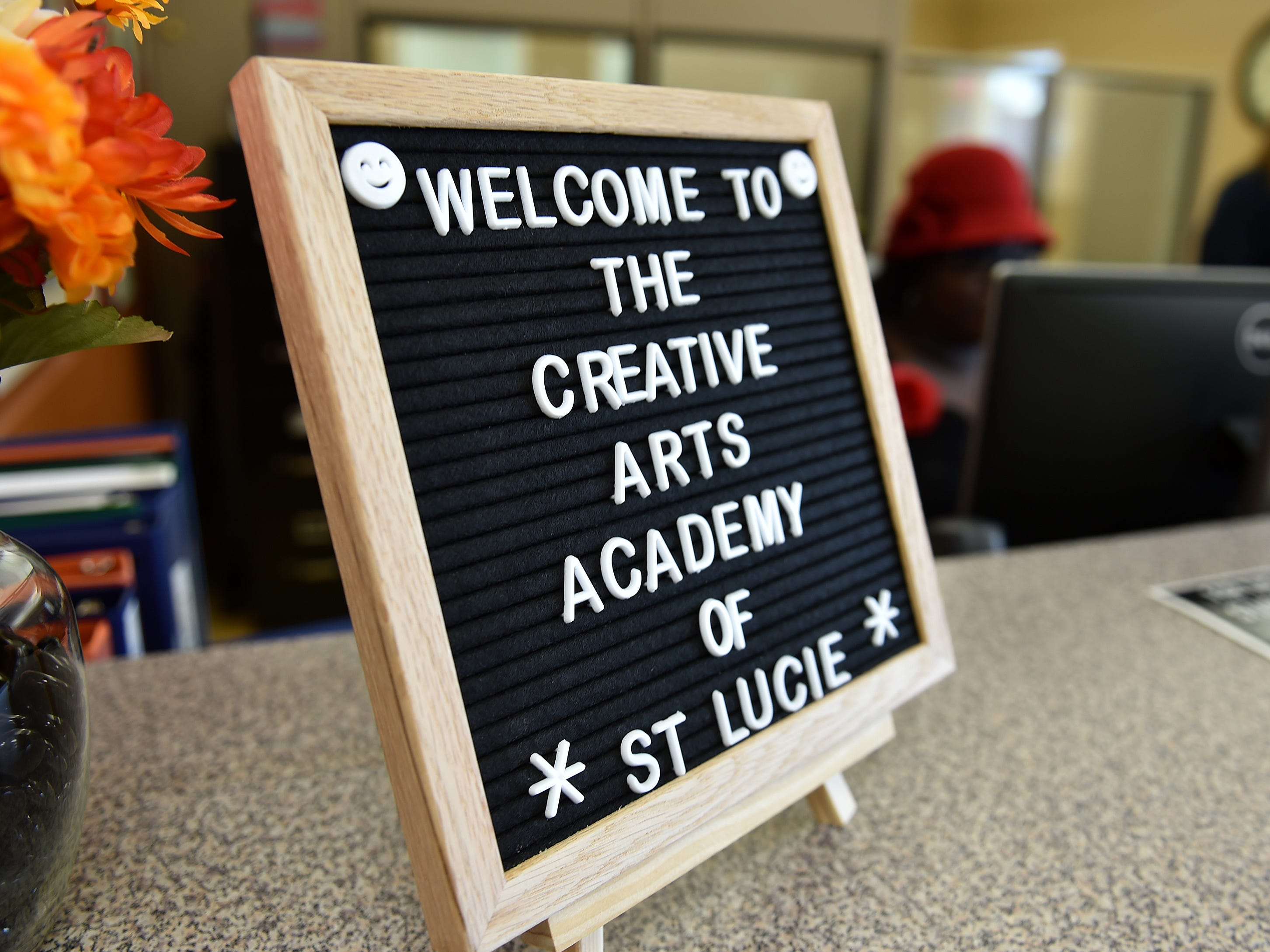 """The first day of school, Monday, August 13, 2018, at Creative Arts Academy of St. Lucie, a new K-8 school in Fort Pierce, part of St. Lucie Public Schools in St. Lucie County. """"The first day is always an exciting day, the kids are excited to come back, their teachers are all excited, and we're just looking forward to another great year,"""" said Wayne Gent, Superintendent of St. Lucie Public Schools."""