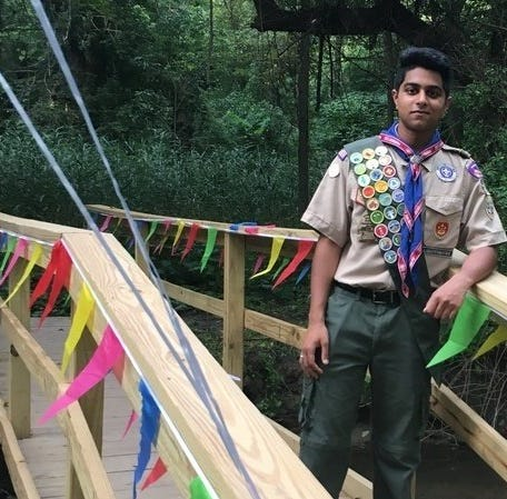 Technicality derails Eagle bid for Greenburgh scout Hari Channagiri, prompts public appeal
