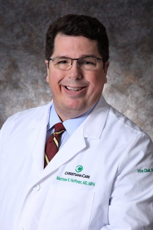 Dr. Matthew Hoffman is the Marie E. Pinizzotto, M.D., Endowed Chair of Obstetrics and Gynecology at Christiana Care Health System