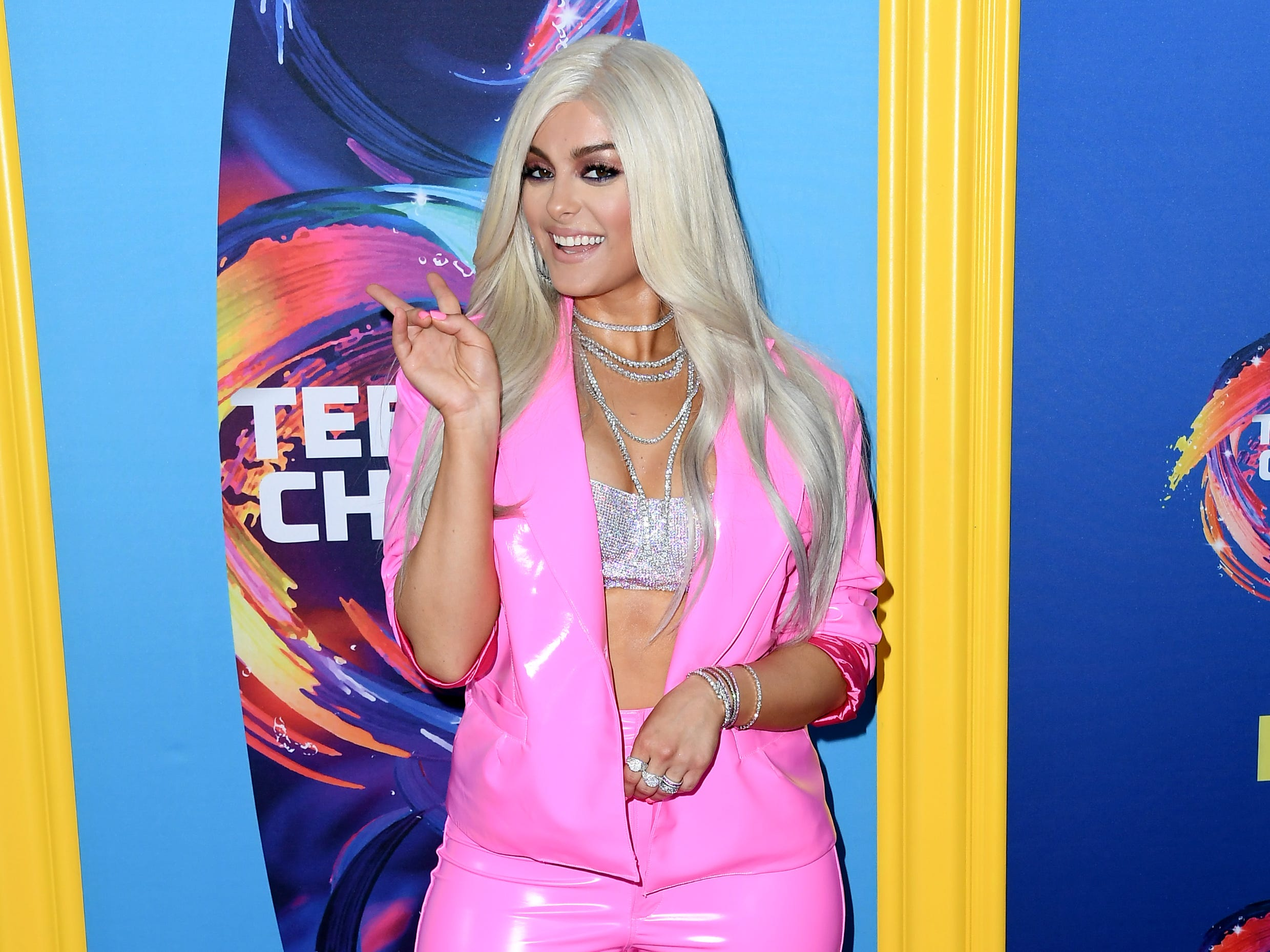 INGLEWOOD, CA - AUGUST 12:  Bebe Rexha attends FOX's Teen Choice Awards at The Forum on August 12, 2018 in Inglewood, California.  (Photo by Steve Granitz/WireImage) ORG XMIT: 775199266 ORIG FILE ID: 1015808782