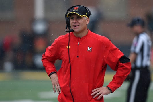 Ncaa Football Purdue At Maryland