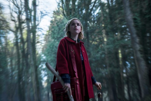 """Mad Men"" alum Kiernan Shipka takes on the titular role in ""Chilling Adventures of Sabrina,"" a ""Sabrina the Teenage Witch"" reboot based on the original comic book series."