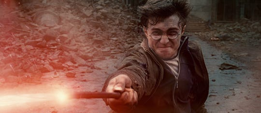 "Daniel Radcliffe played the young title wizard for the last time in ""Harry Potter and the Deathly Hallows: Part 2."""