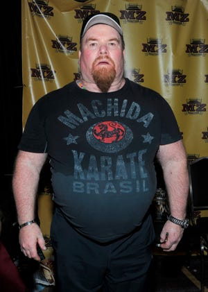 Jim Neidhart attends WrestleCon at the Sheraton Hotel in New Orleans in conjunction with WrestleMania 34 in 2018.