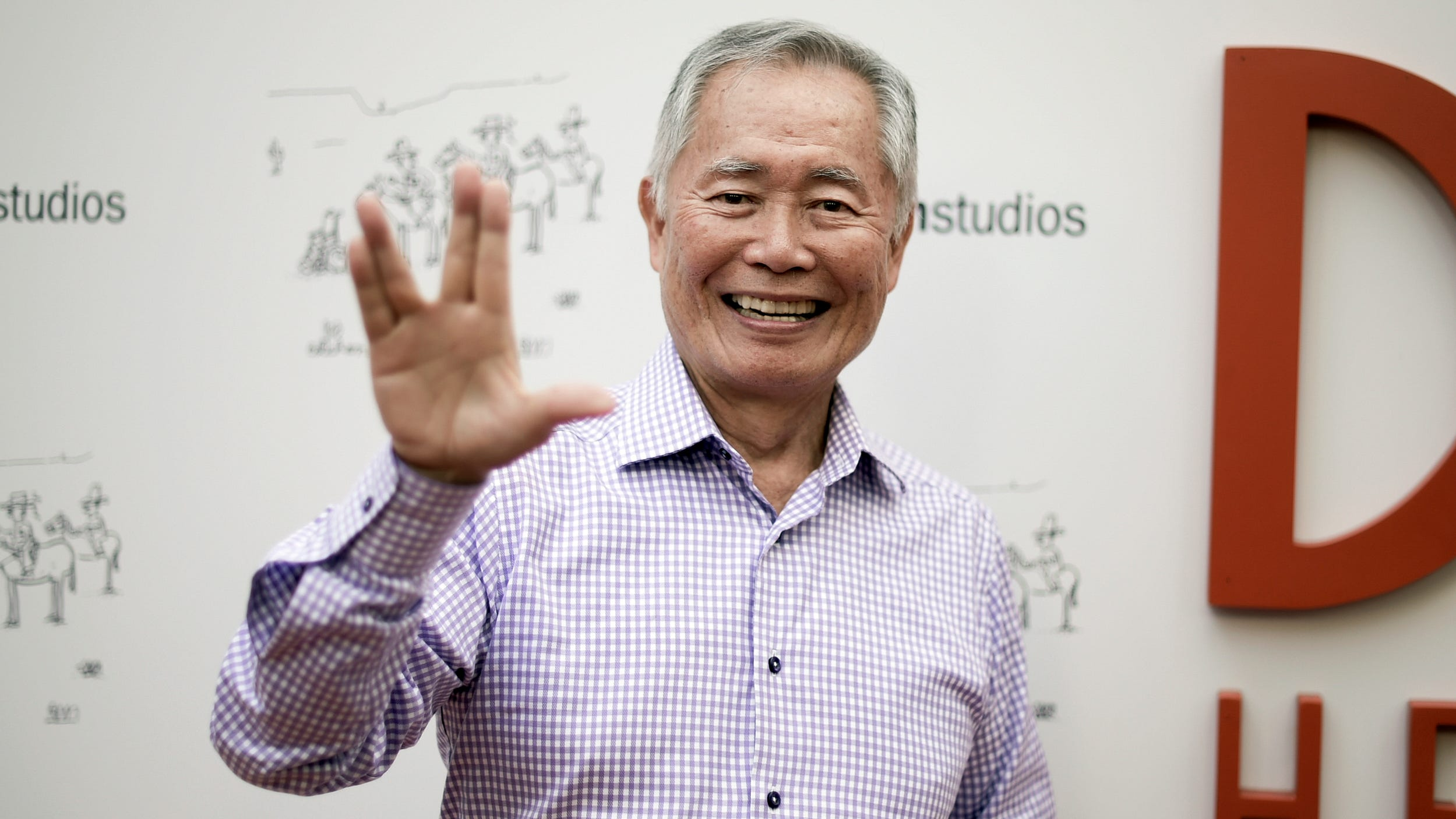 George Takei on July 11, 2018, in Los Angeles.