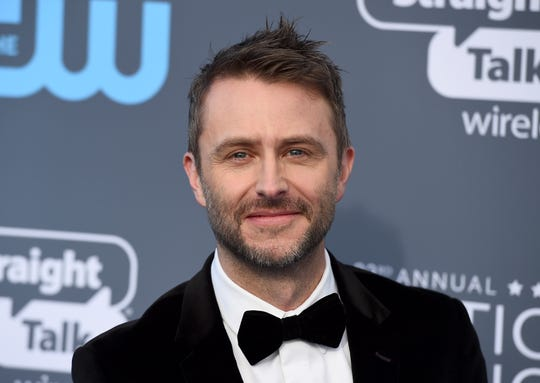 Chris Hardwick on Jan. 11, 2018 at the Critics' Choice Awards in Santa Monica, Calif.