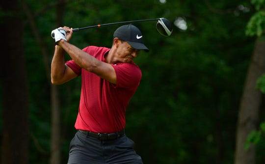 Tiger Woods has power in his swing again despite having a fused back.